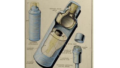 Thermos-bom, een tekening van Fish