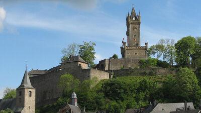 Slot Dillenburg (de toren is een 19de-eeuwse reconstructie)