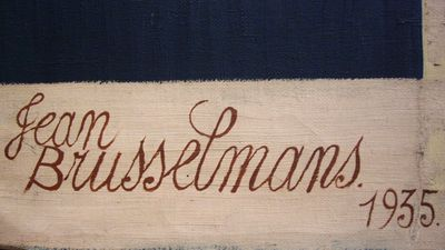 Signatuur van Jean Brusselmans