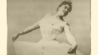Charlotte Van Goethem als danseres