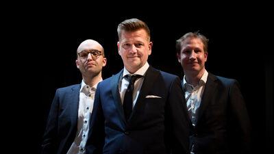 Leander Verdievel, Mathias Claeys en Tom Goris