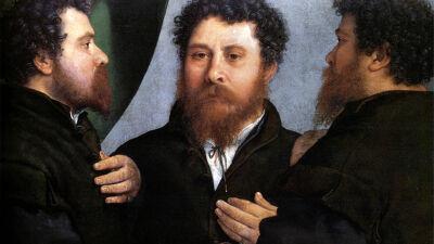 Lorenzo Lotto: Portret van een goudsmid