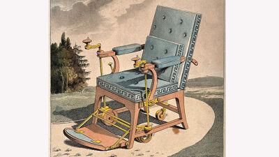 Morpheus Chair, rolstoel van Merlin