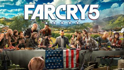 Reclame voor game 'Far Cry 5'