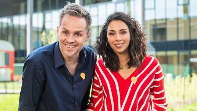 Danira Boukhriss Terkessidis en Peter Van de Veire