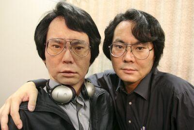 Hiroshi Ishiguro en zijn robot