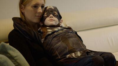 Ilyan en zijn mama