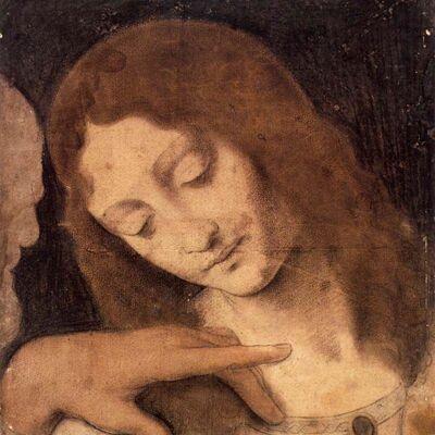 Johannes, detail van Het Laatste Avondmaal