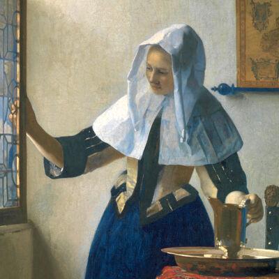 Vermeer: Meisje met waterkan