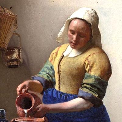 Vermeer: Het melkmeisje