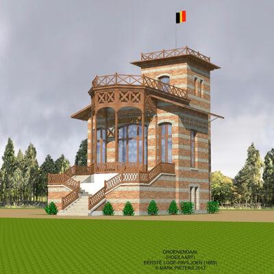 Reconstructie van de eerste Koninklijke Loge