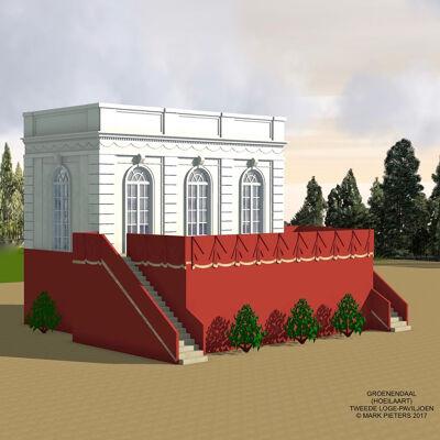 Reconstructie van de tweede Koninklijke Loge