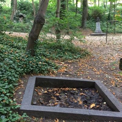 Arduinen bekken van de oude fontein
