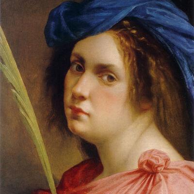 Artemisia Gentileschi: Zelfportret als martelares