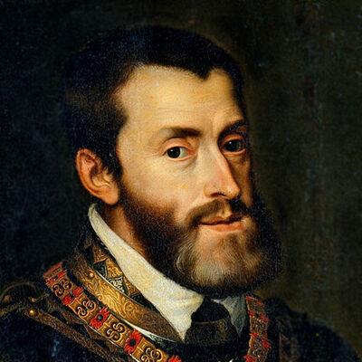 Keizer Karel V, Rooms keizer, koning van Spanje, heer der Nederlanden