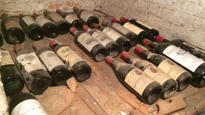Verborgen schatten in de wijnkelder van de president