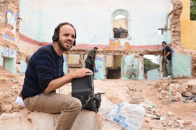 Filmmaker Senne Dehandschutter