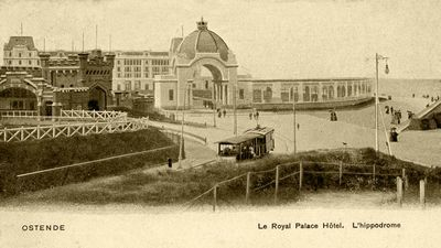 Het Royal Palace Hotel en de Hippodroom