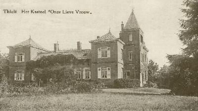 Het kasteel omstreeks 1914