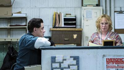 Patricia Arquette en Benicio del Toro