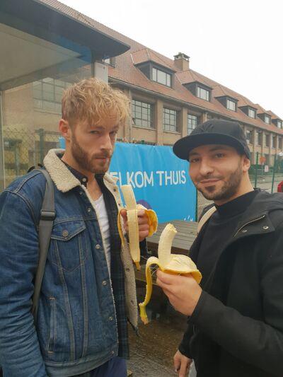 Een banaantje geeft je kracht!
