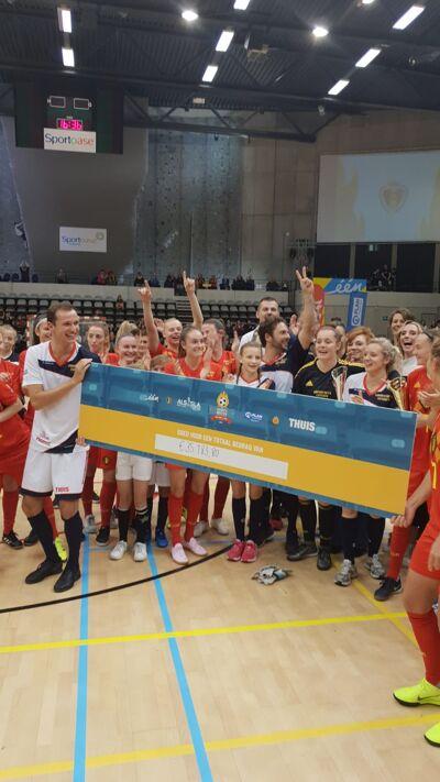 De warmste match bracht 35.183,80 euro op! Een prachtig resultaat!