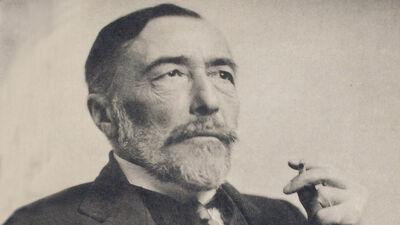 Joseph Conrad in 1916