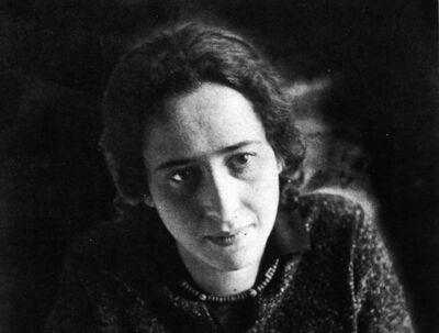Als kind was Arendt zich er niet van bewust dat ze joods was.