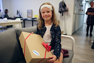 Uiteraard lieten we Marie niet gaan zonder cadeautje!