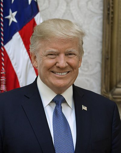 Donald Trump, winnaar van de verkiezingen in 2016