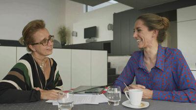 Sportdiëtiste Inge De Ridder en Hanne Decoutere