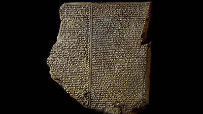 Kleitablet met het Gilgamesj-epos