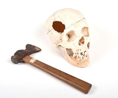 De autopsie gaf uitsluitsel over het gebruikte wapen, 1943