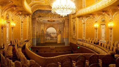 Theater van Fontainebleau, een werk van dezelfde architect Lefuel