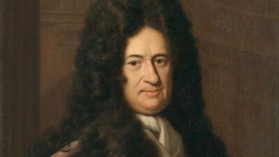 Gottfried Wilhelm von Leibnitz, de Duitse filosoof