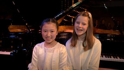 Yelin Wangzhang en Marjolein Acke