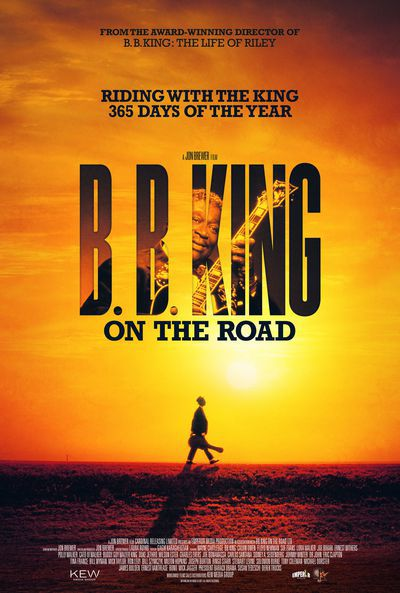 Filmaffiche voor 'B.B. King: on the road' (2018)
