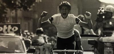 Frank Vandenboucke als jonge coureur