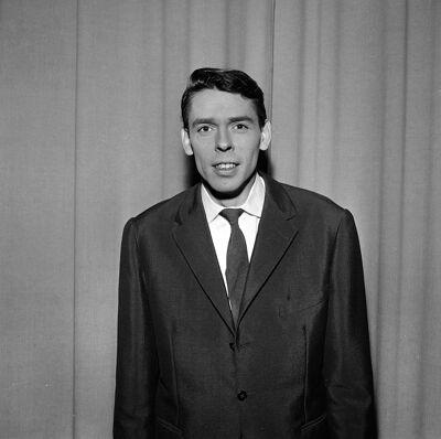 Jacques Brel in Parijs 1961