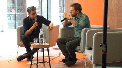 Op Passa Porta Festival gaat Giordano in gesprek met Wim Helsen, tijdens Winteruur in Muntpunt. Hij brengt een tekst van Elias Canetti mee.