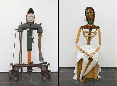 Jimmie Durham, Cortes en Malinche, 1988-92