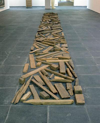 Richard Long, Driftwood Line, 1977