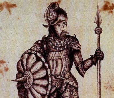 Eirik de Rode (17de-eeuwse tekening)