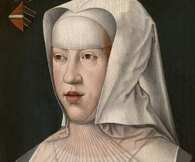 Barend van Orley: Margaretha in weduwendracht