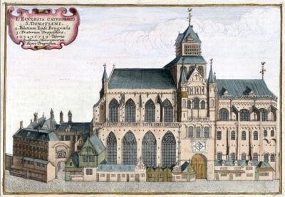 De gesloopte Sint-Donaaskathedraal