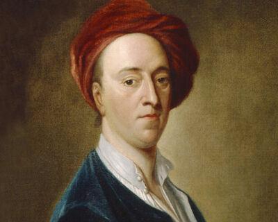 John Vanderbank: portret van Thomas Anson met tulband