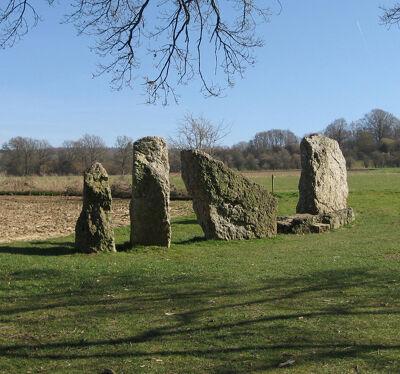 Prehistorische menhirs nabij Wéris