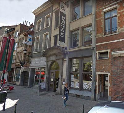 La Bellone, straatgevel aan de Vlaamse steenweg