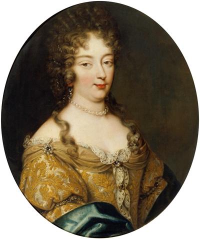 Portret van Olympia Mancini