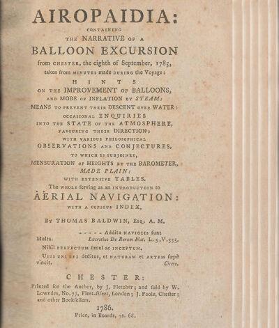 Titelpagina van 'Airopaidia', 1786